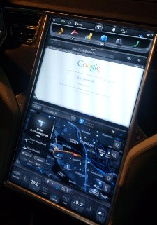 Tesla Model S Connected Car